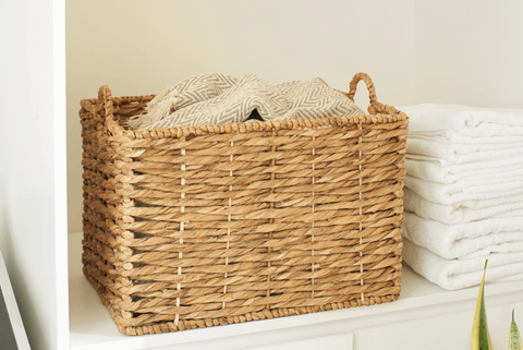 Ways to use wicker basket - Highly affordble 001