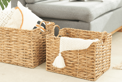 Ways to use wicker baskets - Highly affordable 002