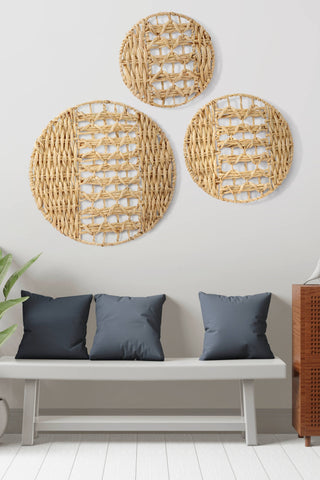 Add some art to create an entry accent wall