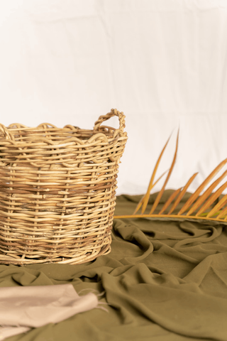 Natural rattan material collection and processing 001
