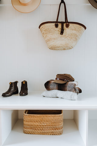 Coat hooks are entryway essentials for hanging