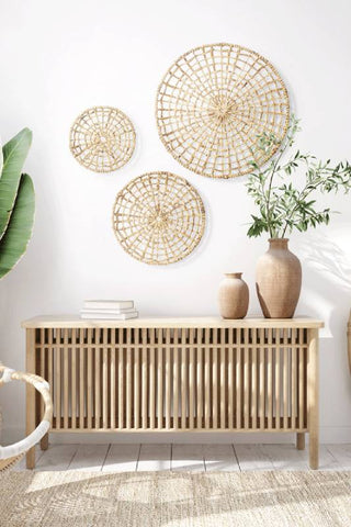 Natural materials home decor brings Good for your health
