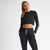 Vanquish Women's Embrace Black Cropped Sweater