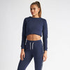 Vanquish Women's Embrace Navy Cropped Sweater