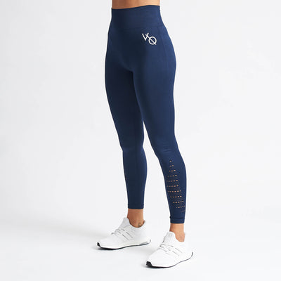 Vanquish Women's Virtue Navy Seamless Leggings