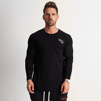 Vanquish Eclipse Black Long Sleeved T Shirt