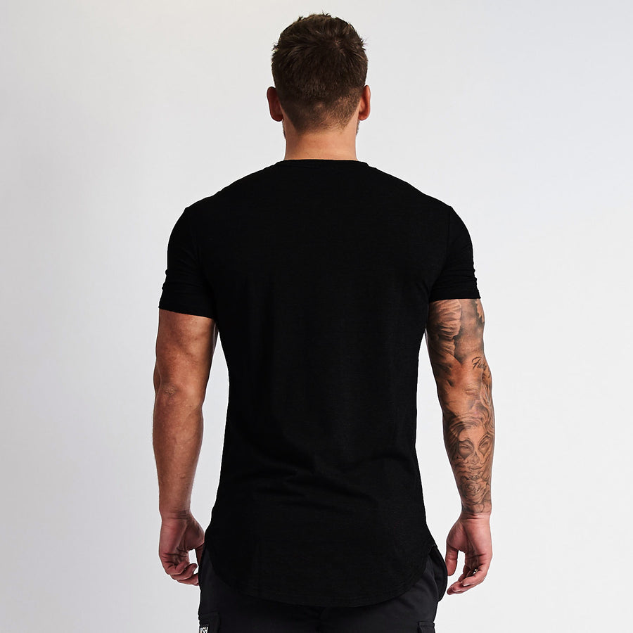 Vanquish Essential Black Short Sleeved T Shirt