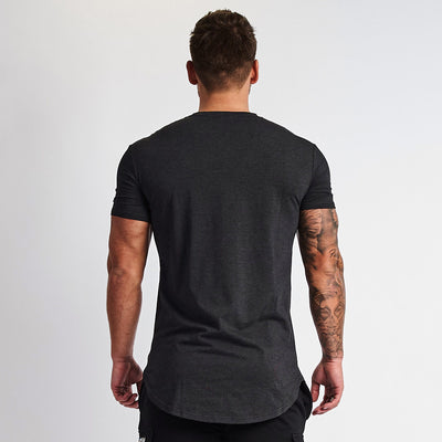 Vanquish Essential Charcoal Grey Short Sleeved T Shirt