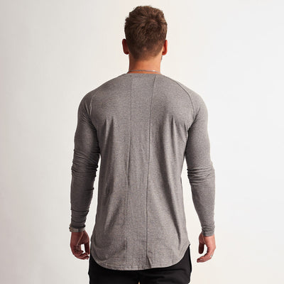 Vanquish Eclipse Grey Long Sleeved T Shirt
