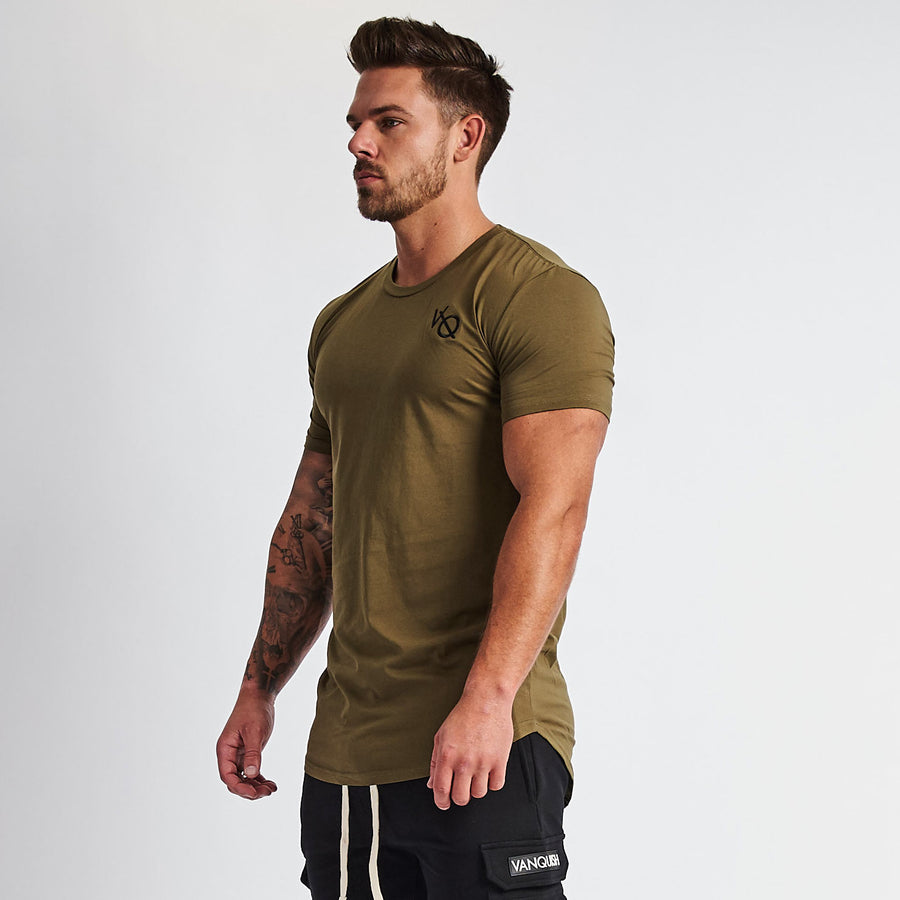 Vanquish Essential Khaki Short Sleeved T Shirt