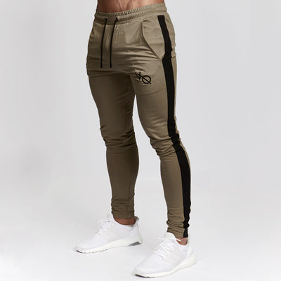 Vanquish Khaki Edge Tapered Sweatpants