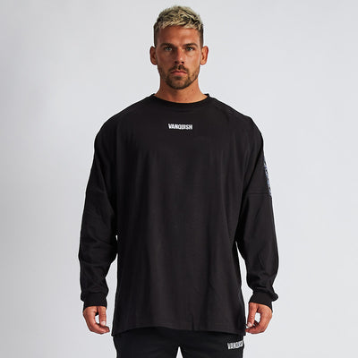 Vanquish LT v2 Men's Black Oversized Long Sleeved T Shirt