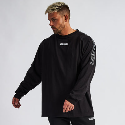 Vanquish LT v2 Men's Black Oversized Long Sleeved T-Shirt