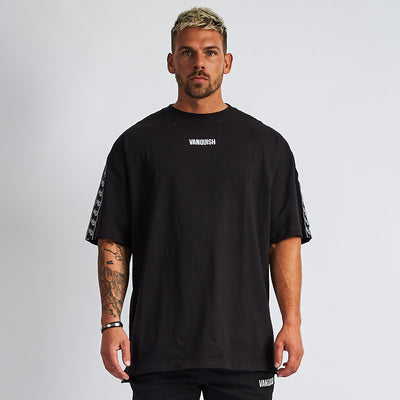 Vanquish LT v2 Men's Black Oversized T-Shirt