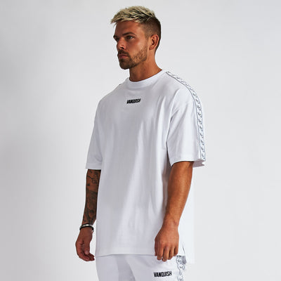 Vanquish LT v2 Men's White Oversized T-Shirt