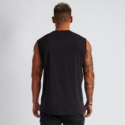Vanquish LT v2 Men's Black Sleeveless T-Shirt