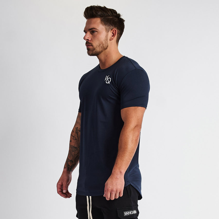 Vanquish Essential Navy Short Sleeved T Shirt