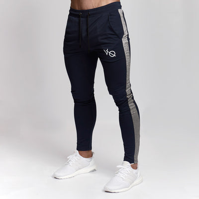 Vanquish Navy Edge Tapered Sweatpants