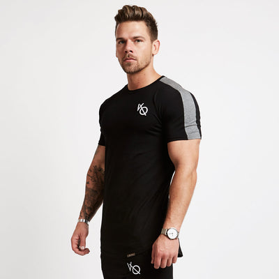 Vanquish Black Strike Short Sleeve T Shirt