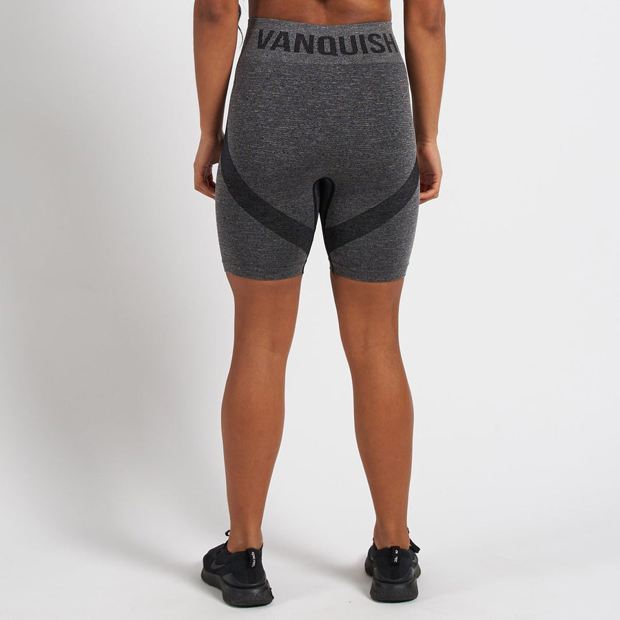 Vanquish Allure Women's Black Seamless Cycling Shorts