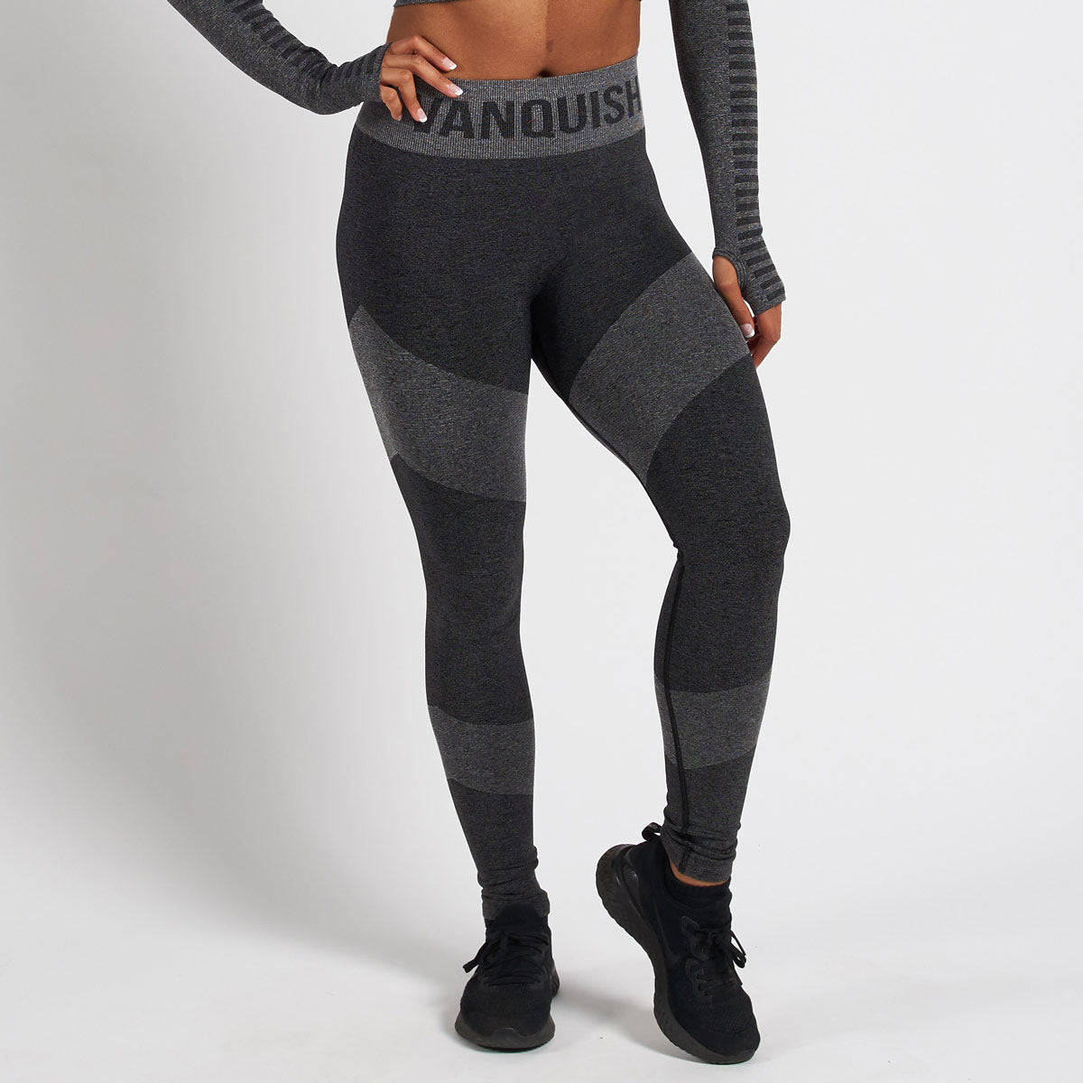 Vanquish Allure Women's Black Seamless Leggings