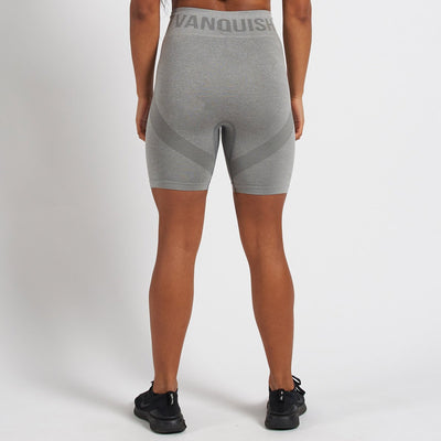 Vanquish Allure Women's Grey Seamless Cycling Shorts