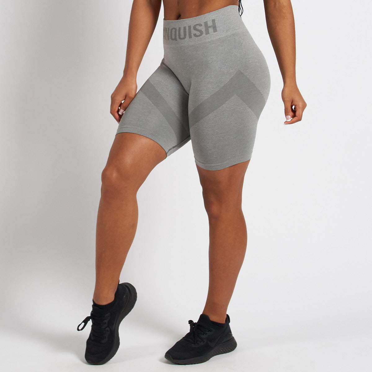 Vanquish Allure Grey Seamless Cycling Shorts