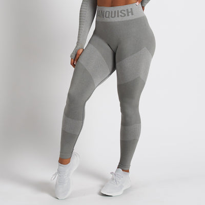 Vanquish Allure Women's Grey Seamless Leggings
