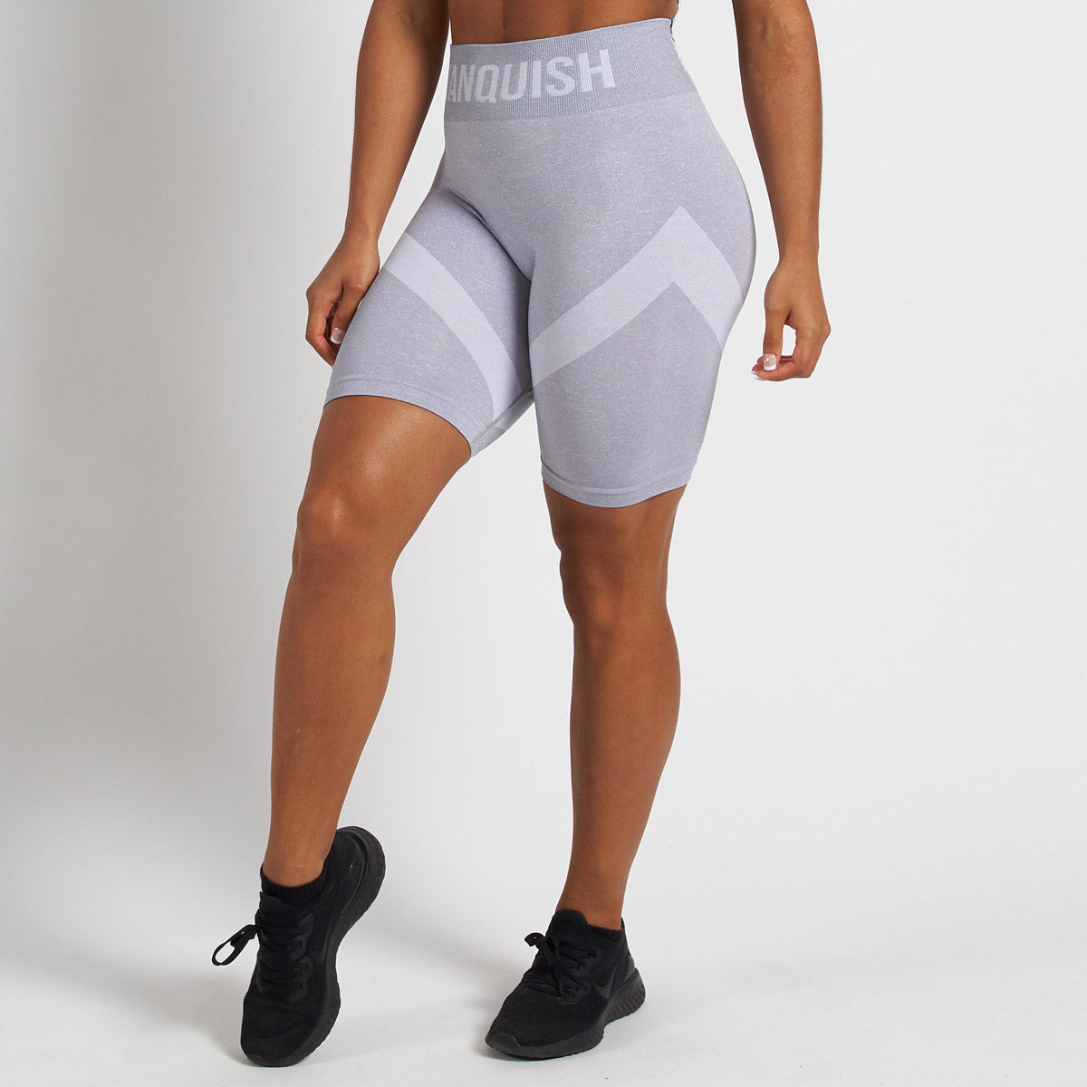 Vanquish Allure White Seamless Cycling Shorts