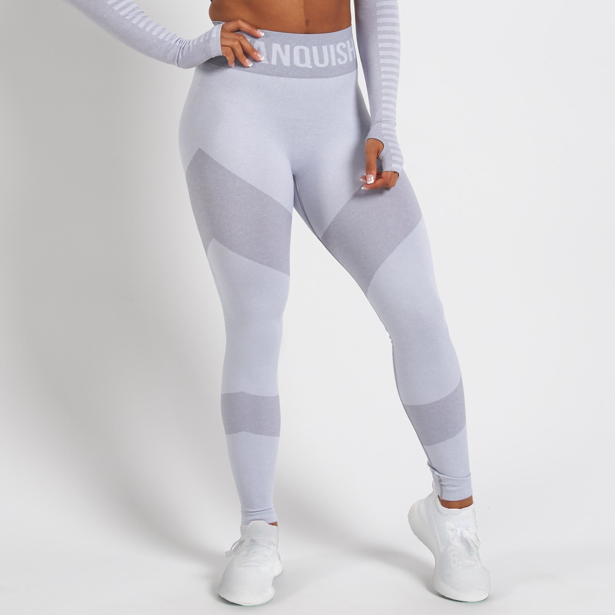 Vanquish Allure Women's White Seamless Leggings