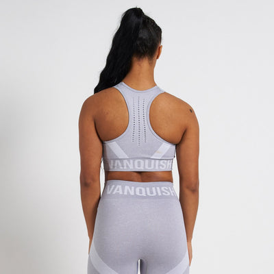 Vanquish Allure Women's White Seamless Sports Bra