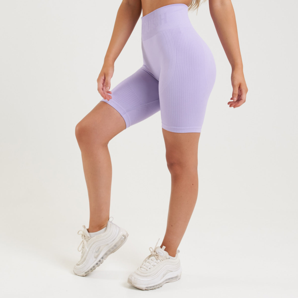 Vanquish Bright Women's Lilac Seamless Cycling Shorts