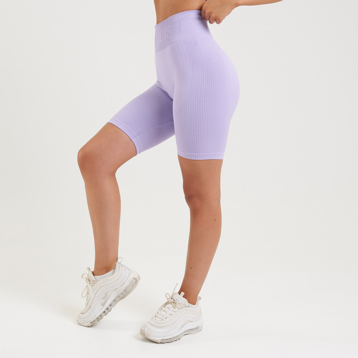 Vanquish Bright Lilac Seamless Cycling Shorts