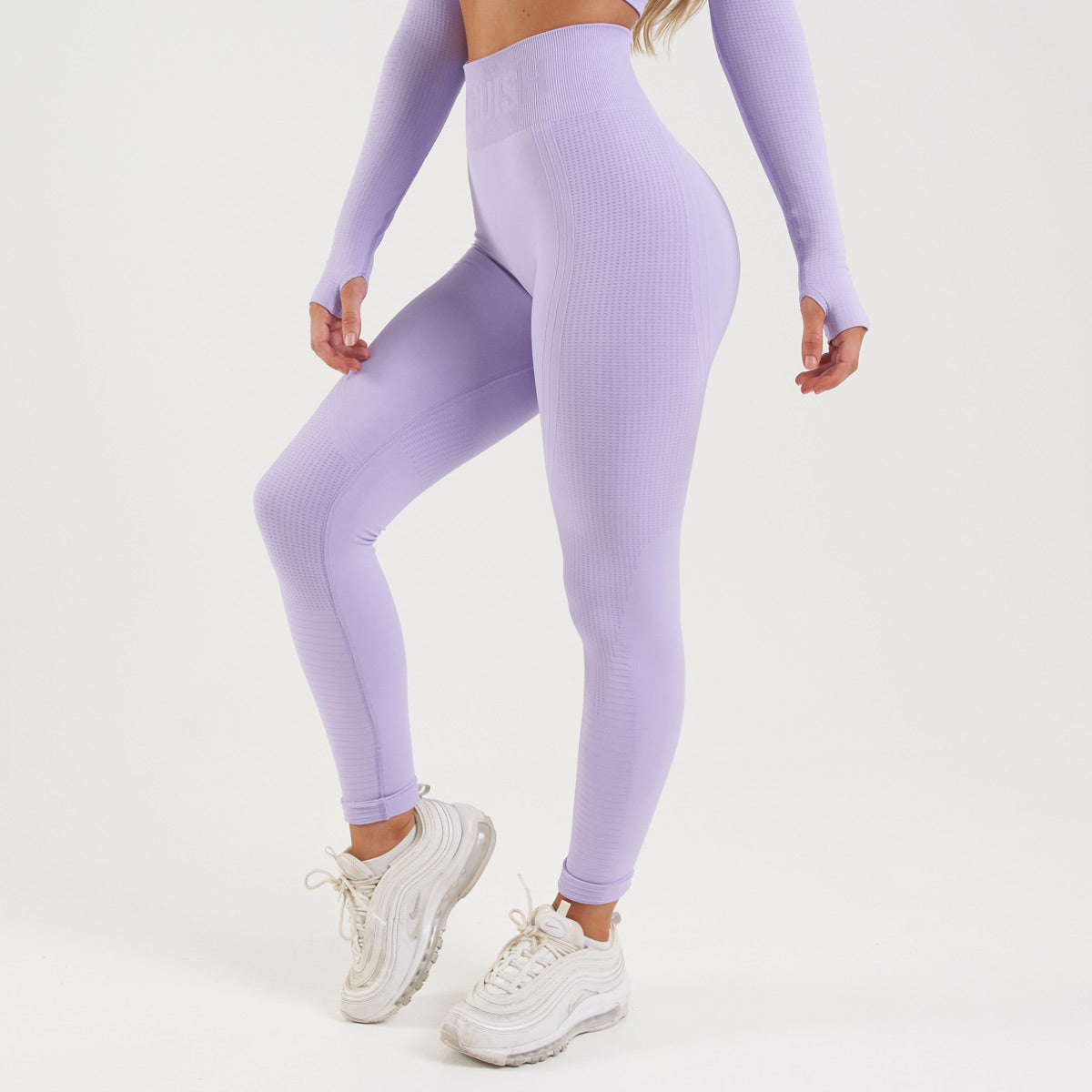 Vanquish Bright Women's Lilac Seamless Leggings
