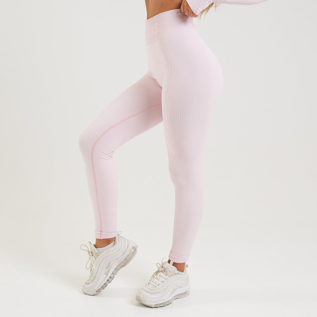 Vanquish Bright Women's Pink Seamless Leggings