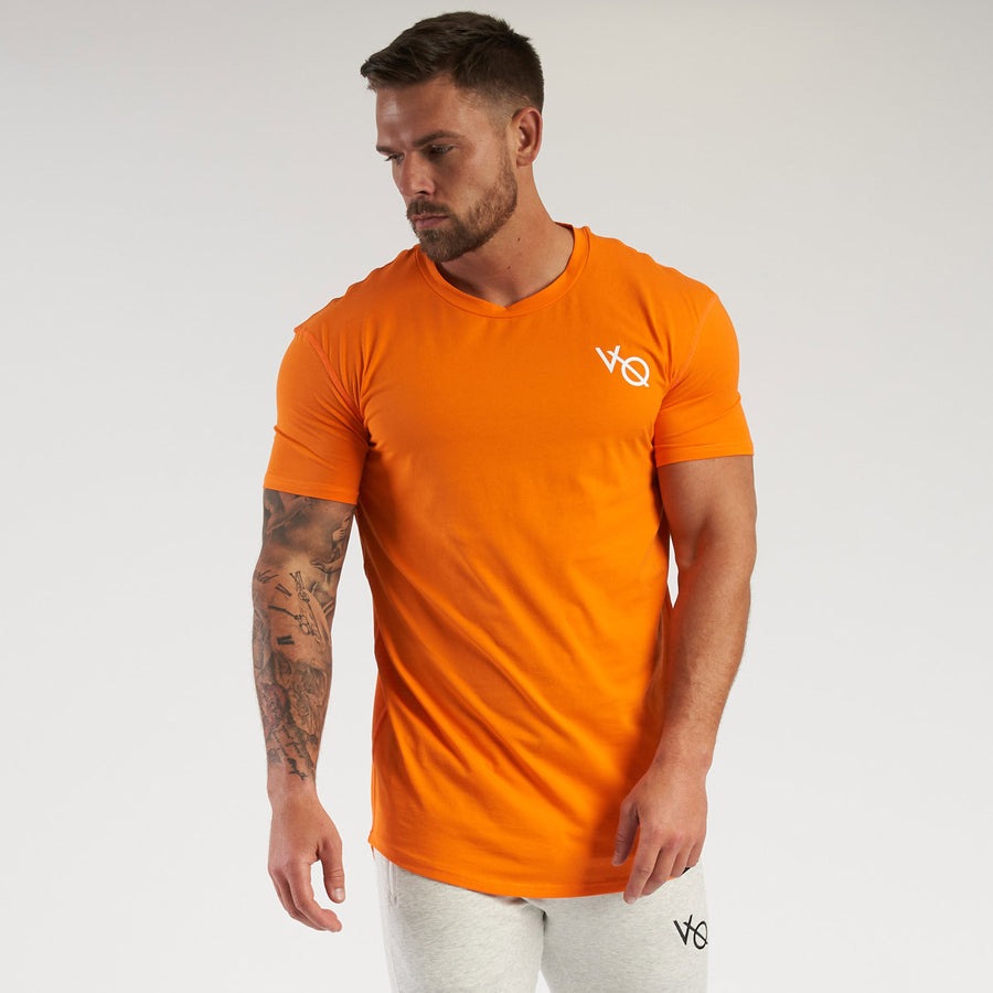 Vanquish Essential SP Orange Short Sleeved T-Shirt
