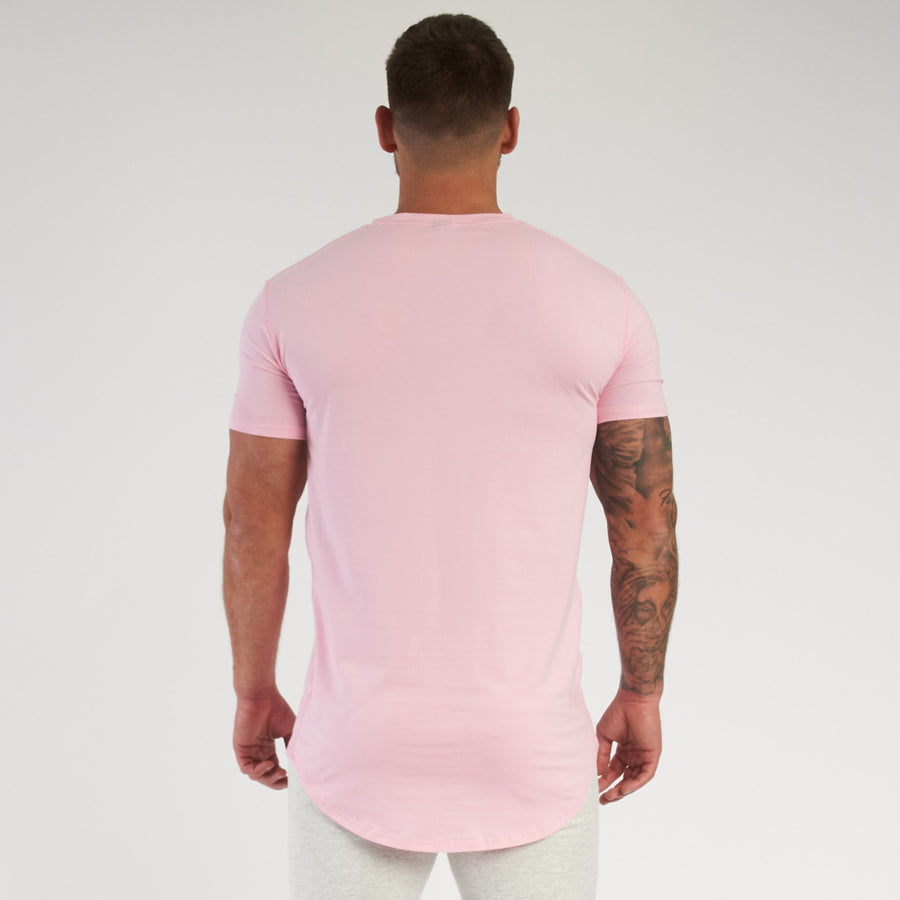 Vanquish Essential SP Pink Short Sleeved T-Shirt