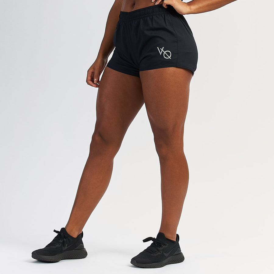 Vanquish Ascend Women's Black Double Layer Shorts