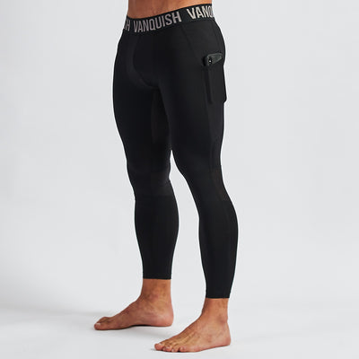 Vanquish Intensity Men's Black 3/4 Leggings