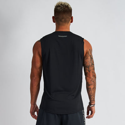 Vanquish Intensity Men's Black Sleeveless T Shirt