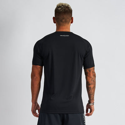 Vanquish Intensity Men's Black Short Sleeved T Shirt