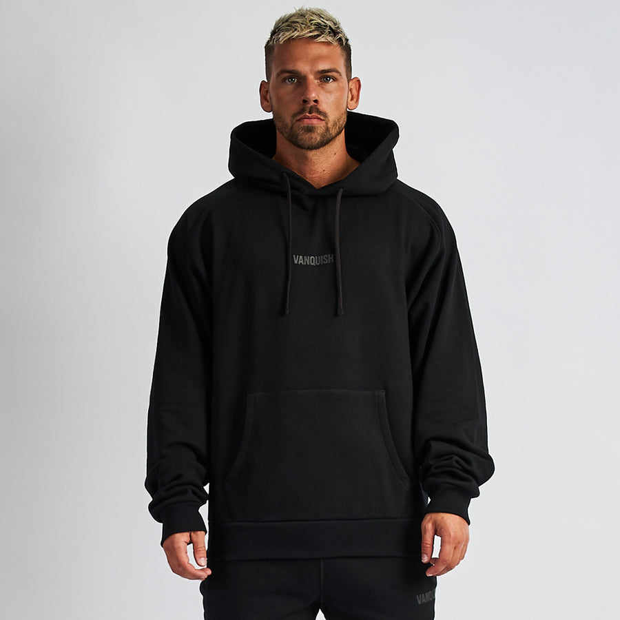 Vanquish Men's Black Friday Reflective Oversized Hoodie