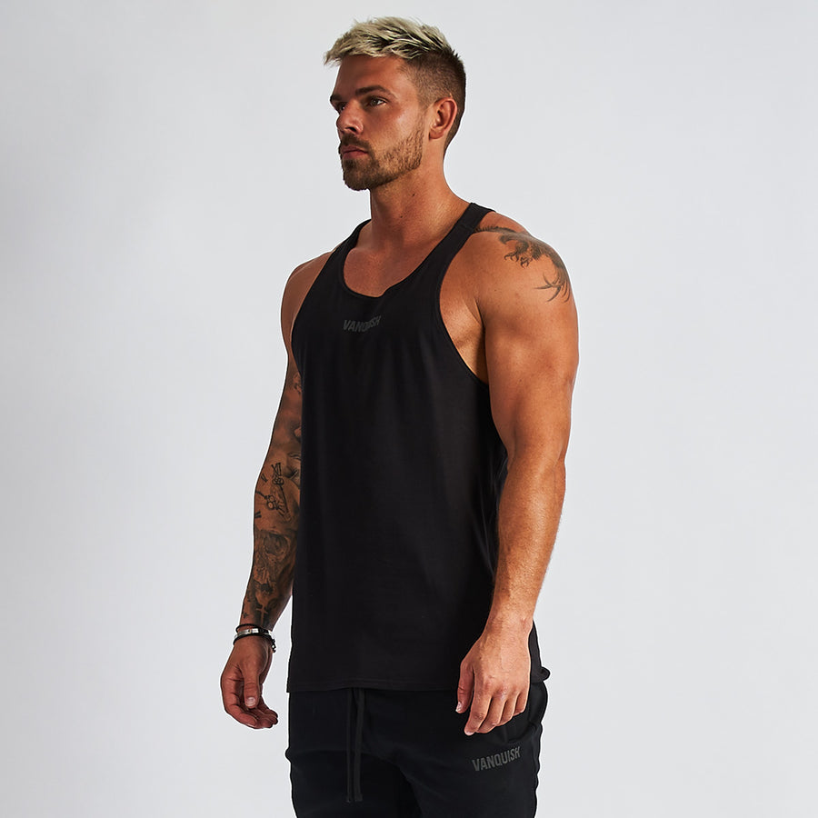 Vanquish Men's Black Friday Reflective Tank