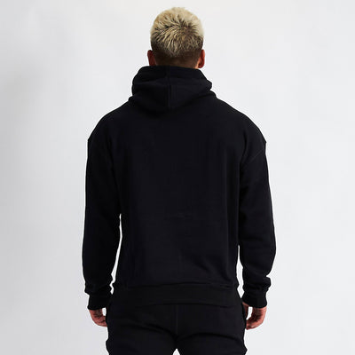 Vanquish Warm Up v2 Black Oversized Hoodie