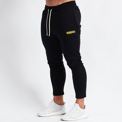 Vanquish Warm Up v2 Black Tapered Sweatpants