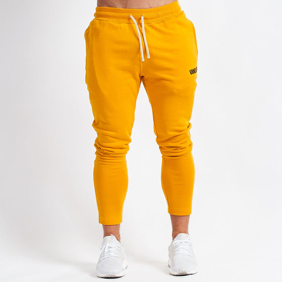 Vanquish Warm Up v2 Yellow Tapered Sweatpants