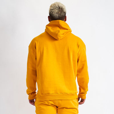 Vanquish Warm Up v2 Yellow Oversized Hoodie