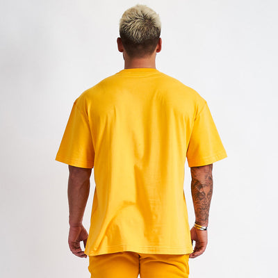 Vanquish Warm Up v2 Yellow Oversized T Shirt