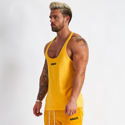 Vanquish Warm Up v2 Yellow Stringer Vest