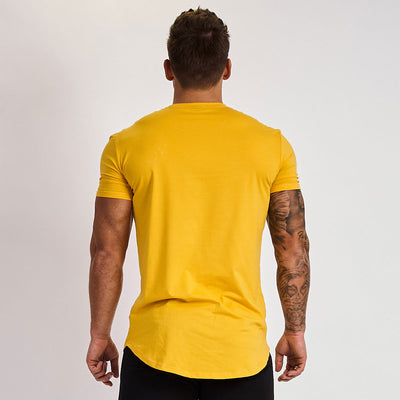 Vanquish Essential Yellow Short Sleeved T Shirt